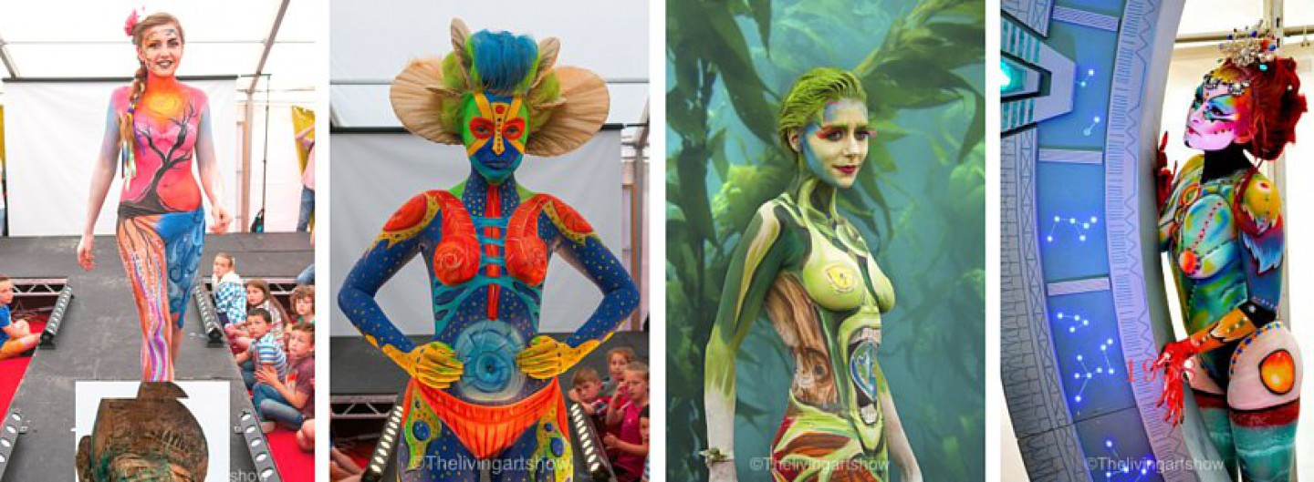 Body Painting Show >> The Living Art Show Body Painting Festival Body Painters Body