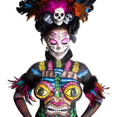 Witch Doctor Body Paint